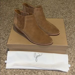 Joie Whiskey Barlow suede booties - size 37